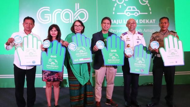 Peluncuran Roadmap Teknologi Keselamatan, Grab berkolaborasi dengan Komnas Perempuan dan Dirlantas Polda Metro Jaya