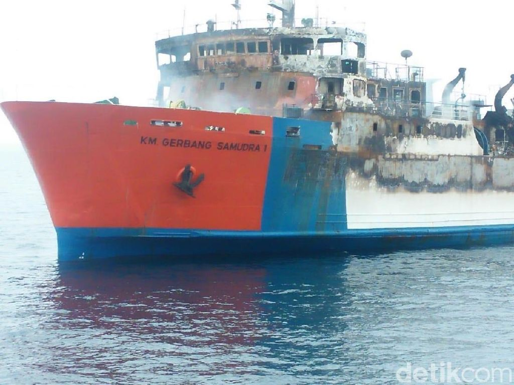 Pencarian Nakhoda dan 2 Kadet KM Gerbang Samudra I Terkendala Ini