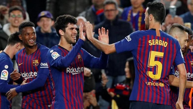 Barcelona Kembali Ke Puncak Klasemen Liga Spanyol