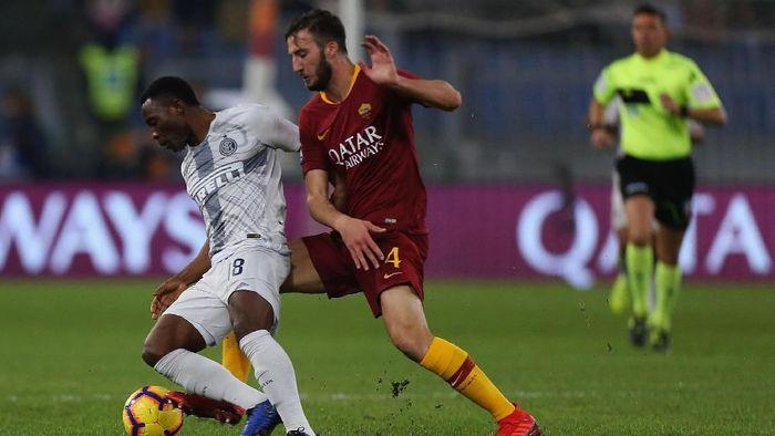 AS Roma imbang 2-2 melawan Inter Milan (Foto: Paolo Bruno/Getty Images)