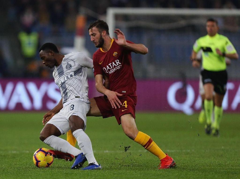 Hasil Liga Italia: Roma vs Inter Berakhir Imbang, Juventus Melaju Sendirian