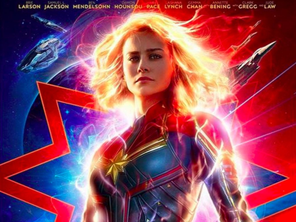 Rajai Box Office, Captain Marvel Raup Rp 2,1 T
