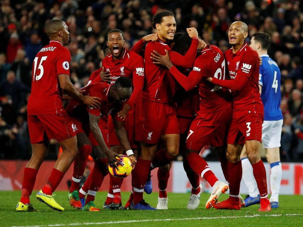 Drama Gol Menit 95 di Derby Merseyside