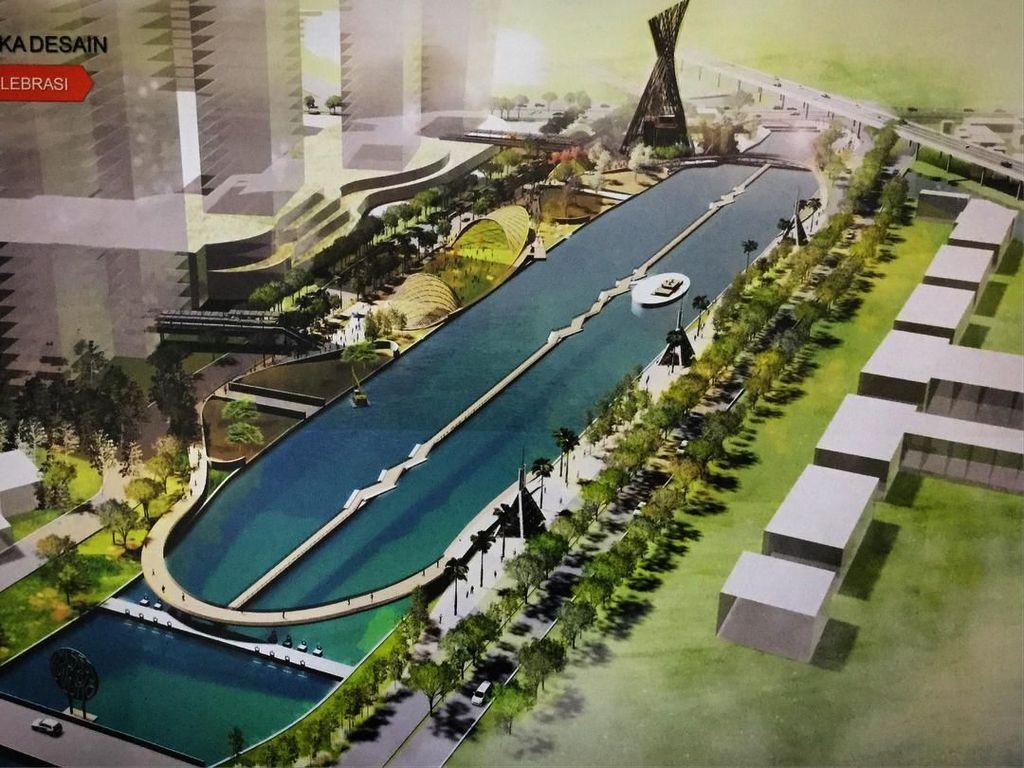Warga Bekasi, Ini Desain Akhir Penataan Kali Malang Zona 1