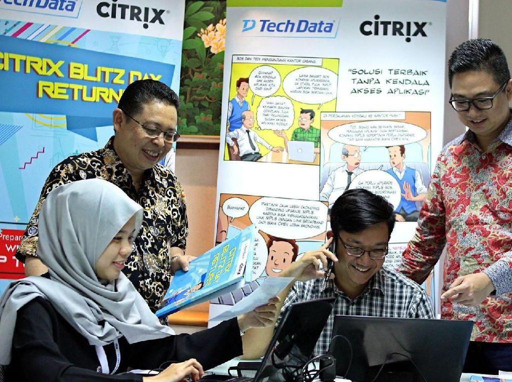 Kompetisi Bisnis Tech Data yang Mengasyikan