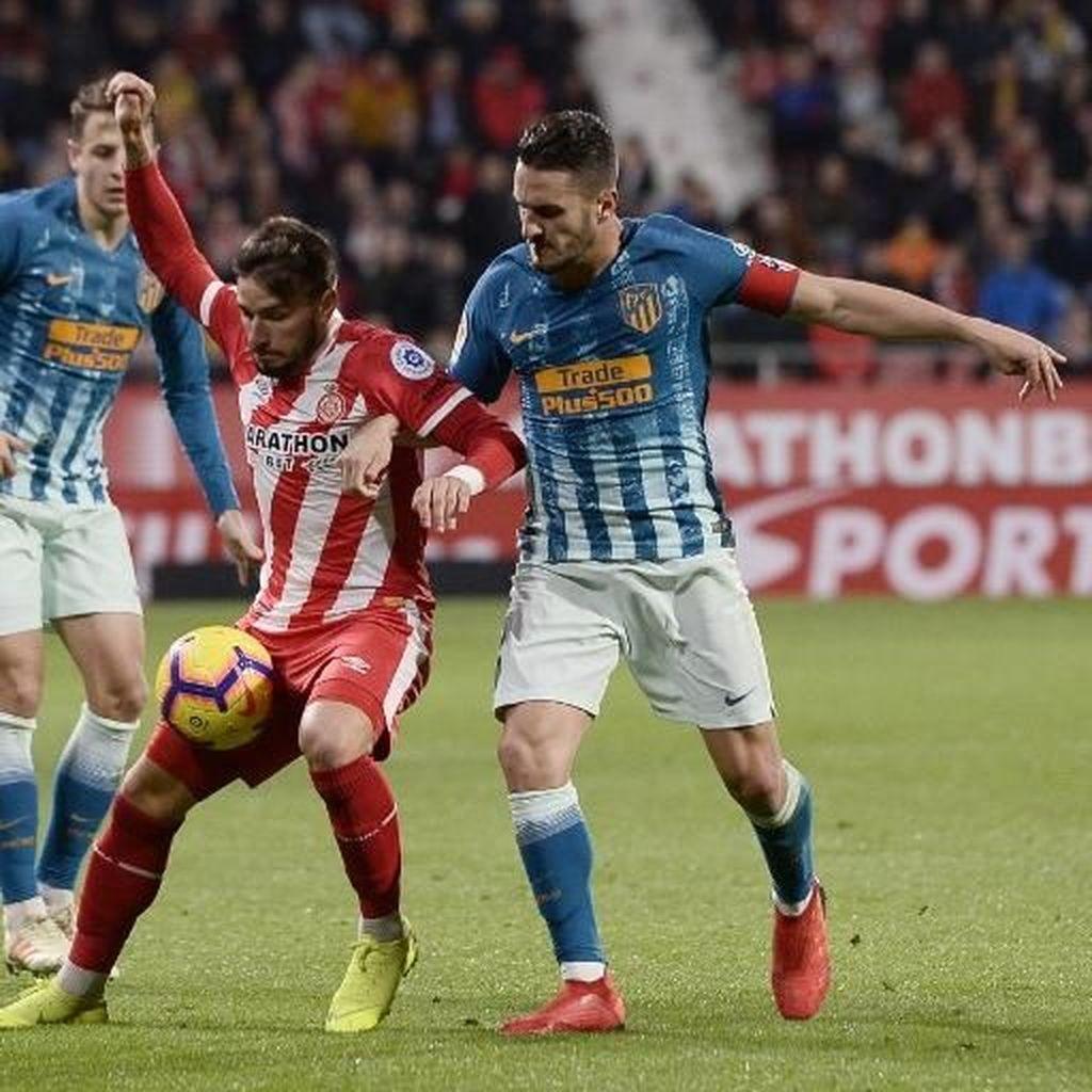 Hasil Liga Spanyol: Atletico Tertahan 1-1 di Markas Girona