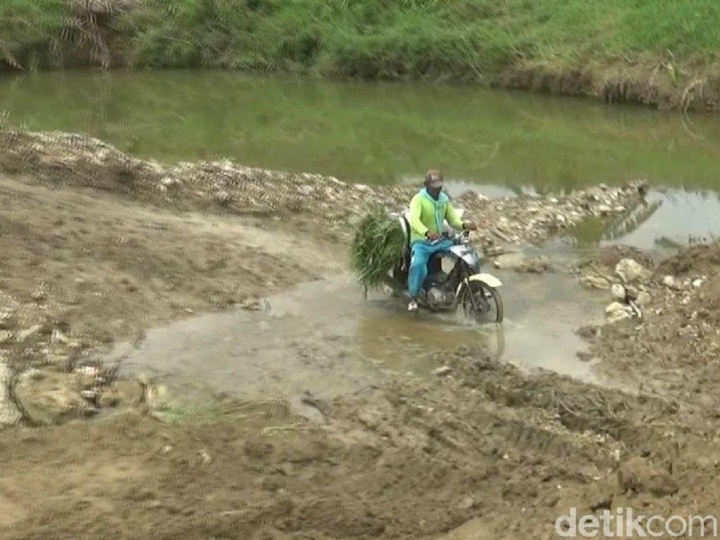 Sepekan Jembatan di Bojonegoro Ambruk, Warga Masih Kesulitan Akses