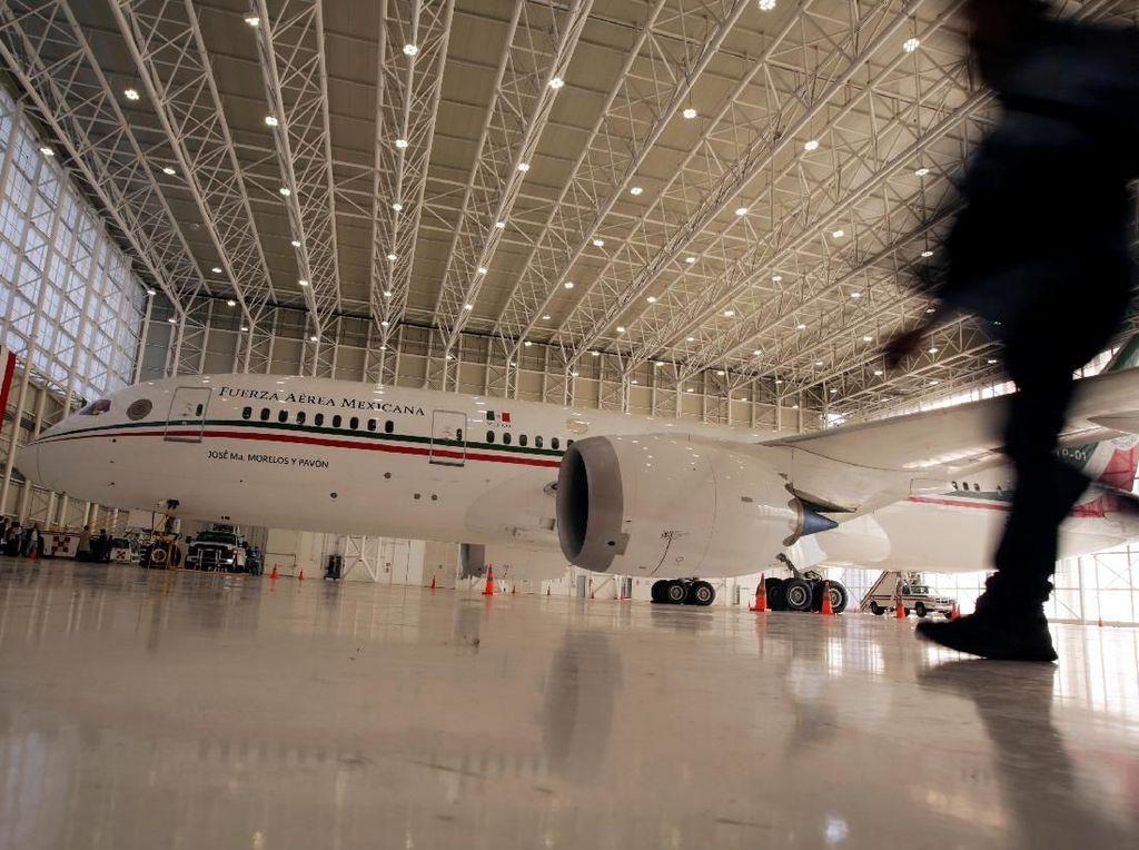 Mengintip Isi Pesawat Kepresidenan Meksiko yang Akan Dilelang