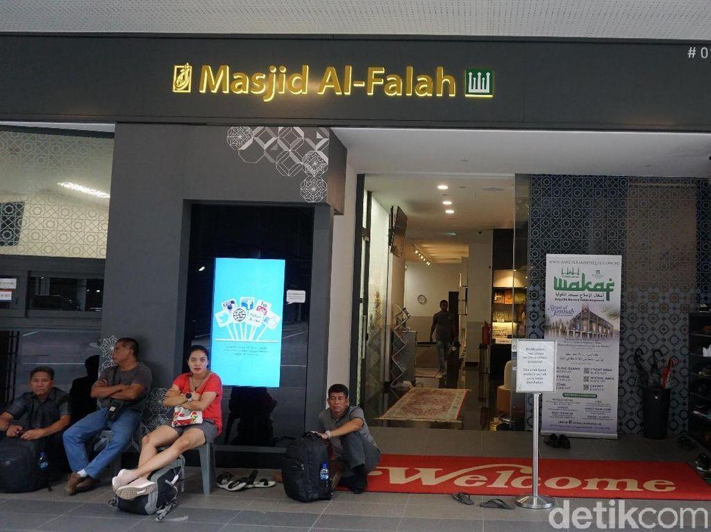 Potret Masjid Nyaman di Orchard Road Singapura