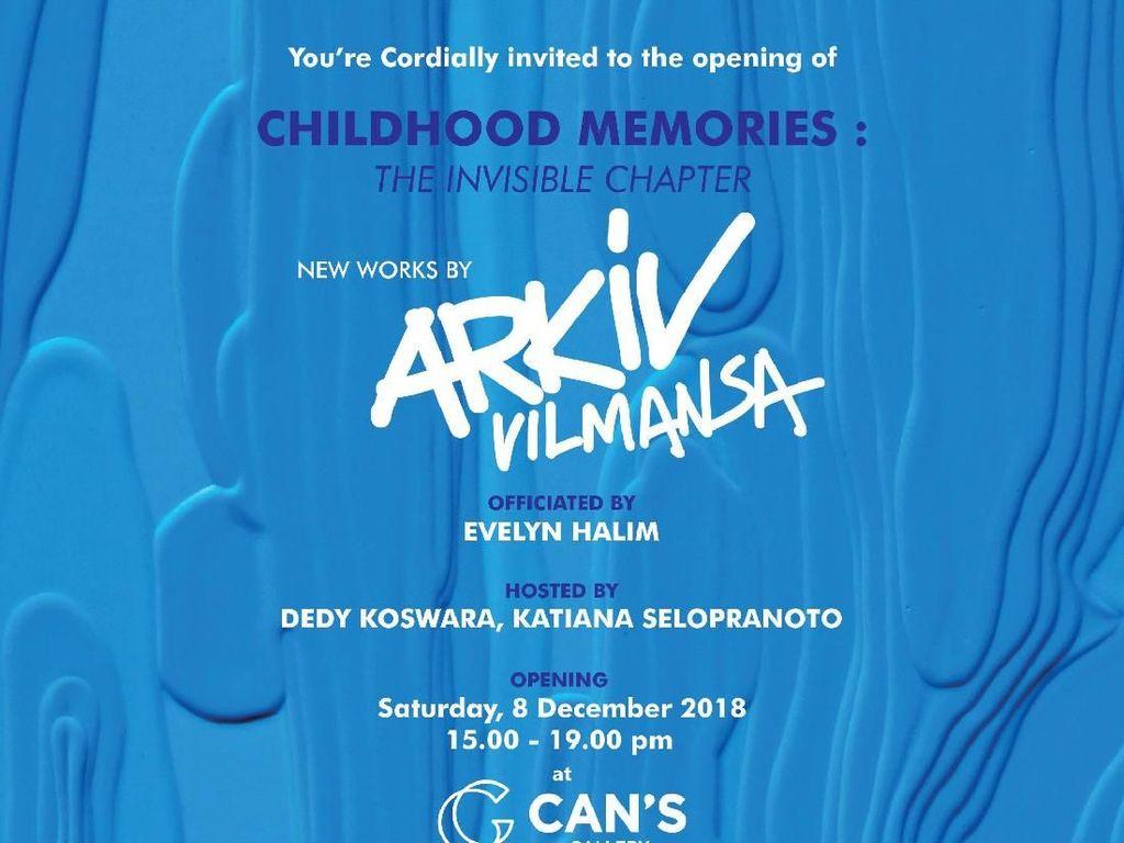 Gelar Pameran Tunggal, Arkiv Vilmansa Pajang Karya Childhood Memories