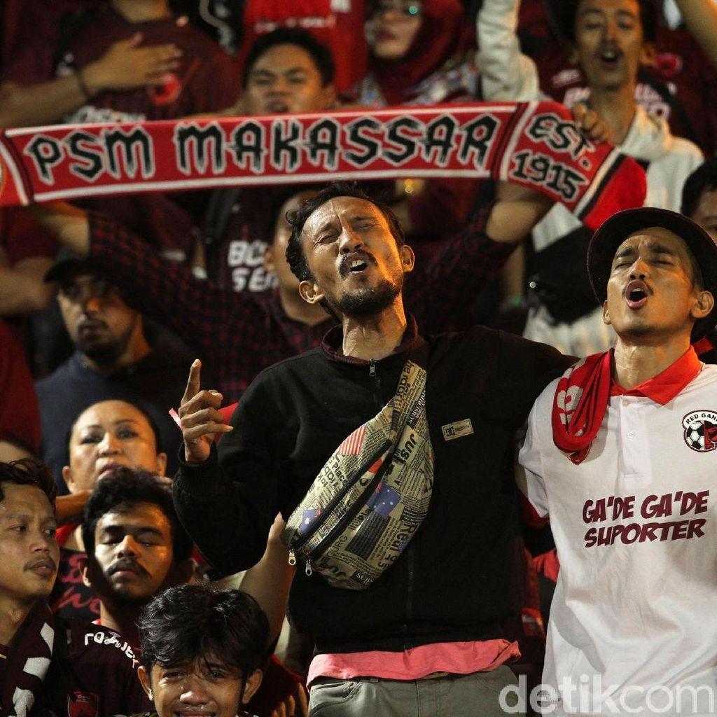 Main di Piala AFC, PSM Berkandang di Stadion Pakansari