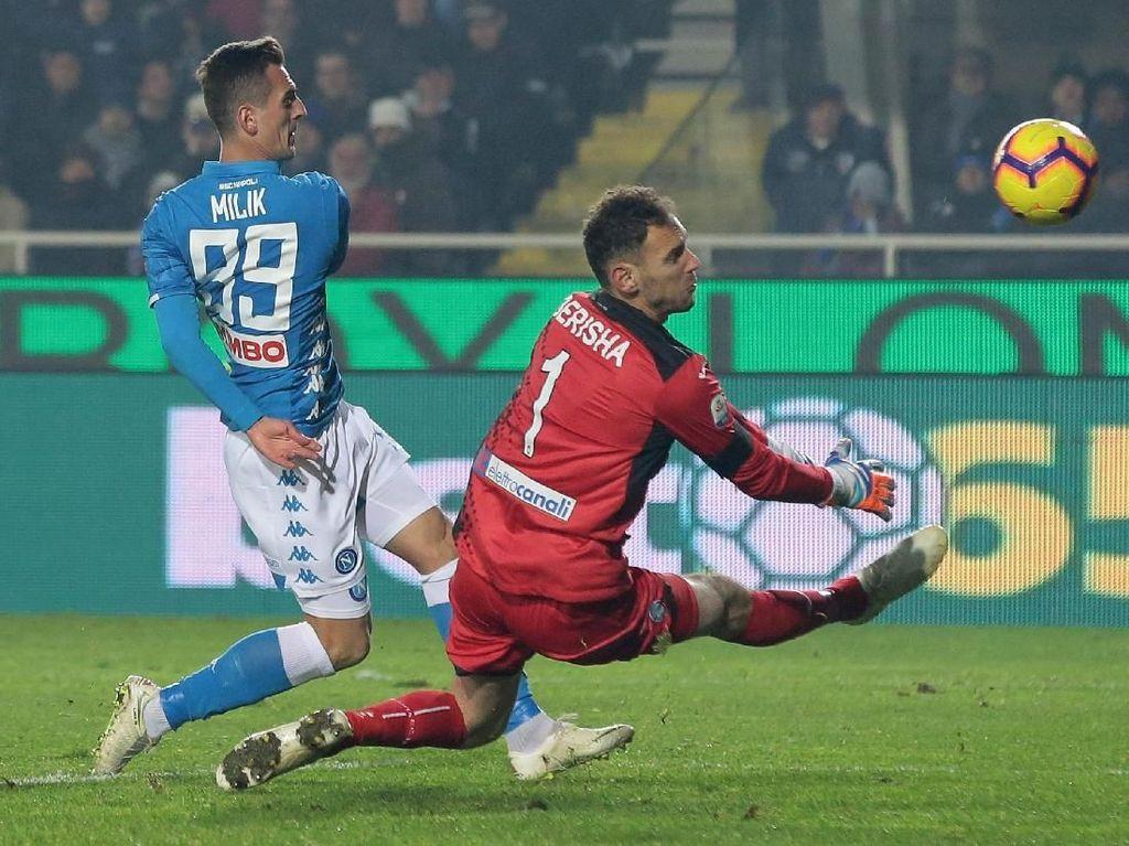Hasil Liga Italia: Napoli Tekuk Atalanta 2-1