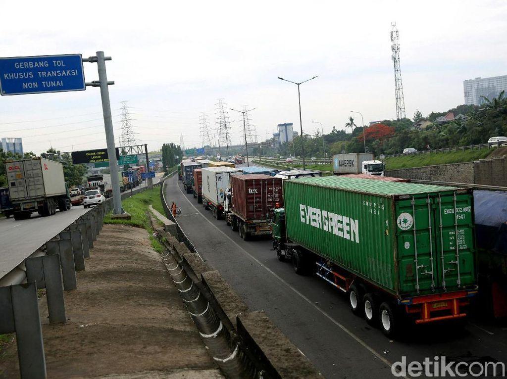 Tarif Truk Cs di Tol Bandara Turun Rp 1.500
