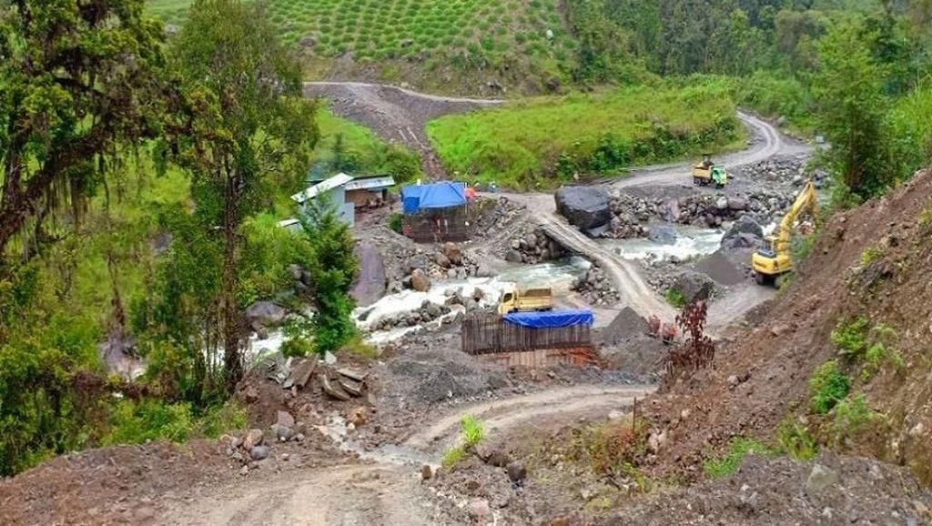 Insiden Penembakan Brutal Tak Buat Proyek Trans Papua Gentar