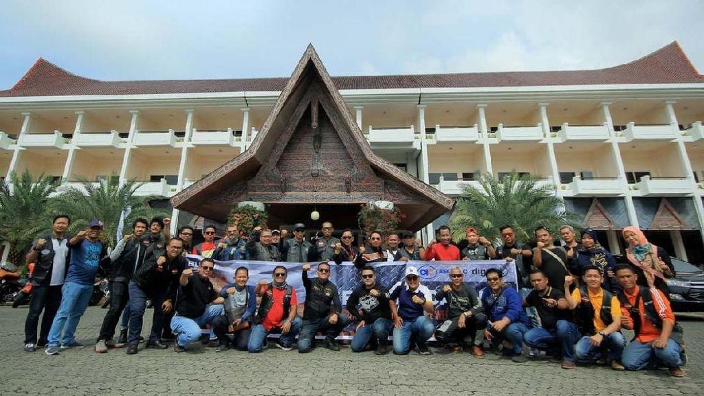 Meriahnya Indonesia Internasional Biker Gathering