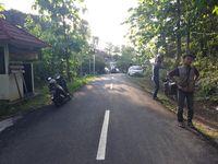 Jalanan menuju bukit (Pradito Rida Pertana/detikTravel)