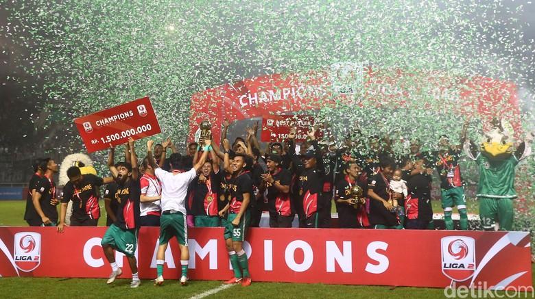 Selamat! PSS Sleman Juara Liga 2