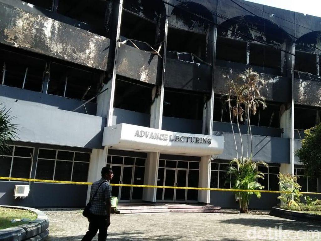 Misteri Asal-usul Api di Balik Kebakaran Gedung Undar Jombang