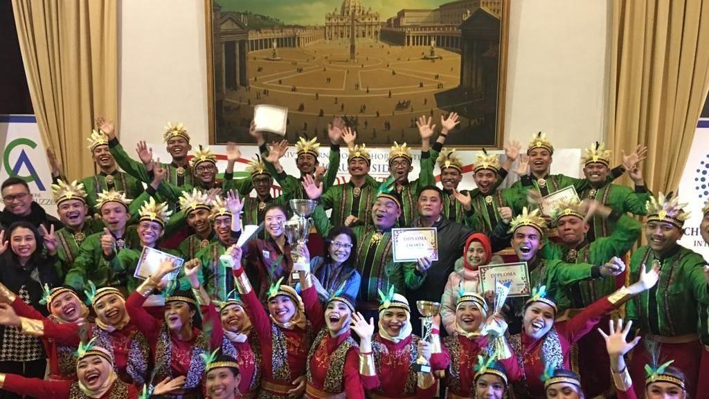 Salut! Paduan Suara Jakarta Youth Choir Raih 5 Penghargaan di Roma