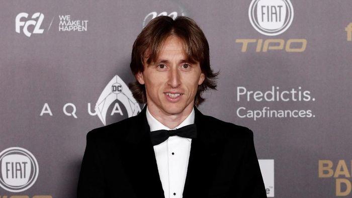 Luka Modric menangi Ballon dOr 2018 (Benoit Tessier/REUTERS)