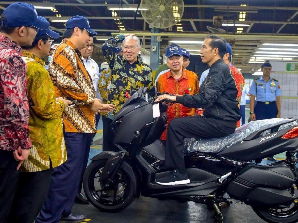Yamaha Jadi Jagoan Ekspor Motor