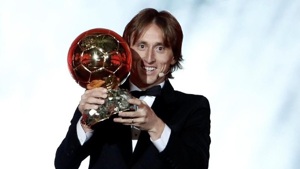 Luka Modric Rebut Gelar Ballon dOr 2018
