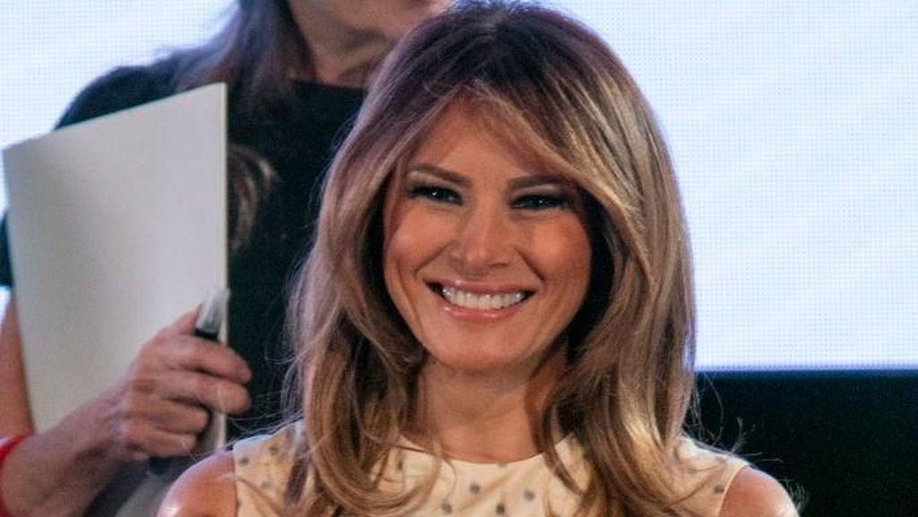 Gaya Melania Trump Pakai Dior Hingga Gucci di KTT G20