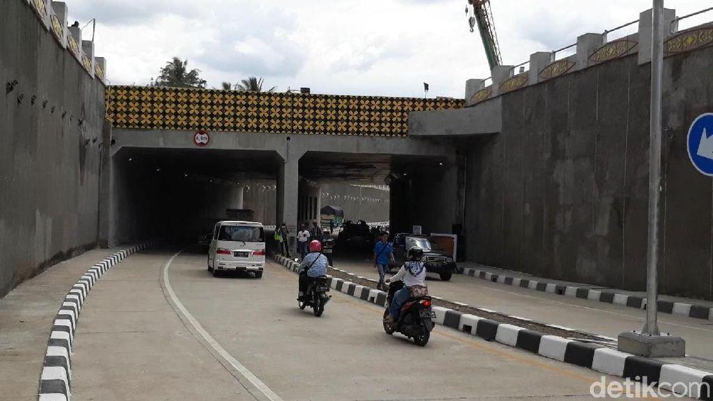 Underpass di Brebes Diujicoba, Bisa Kurangi Kemacetan