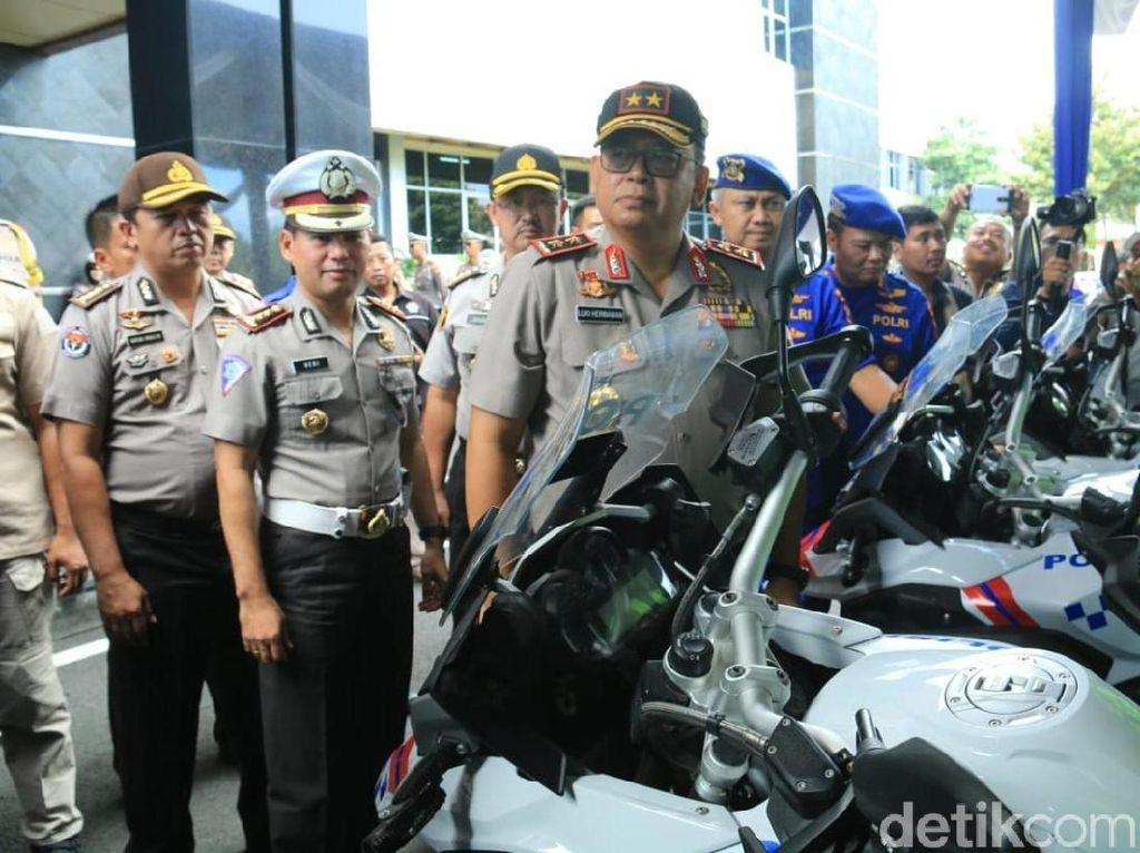 Jelang Operasi Lilin Semeru, Polisi Dilengkapi Motor Patwal 1.200 CC