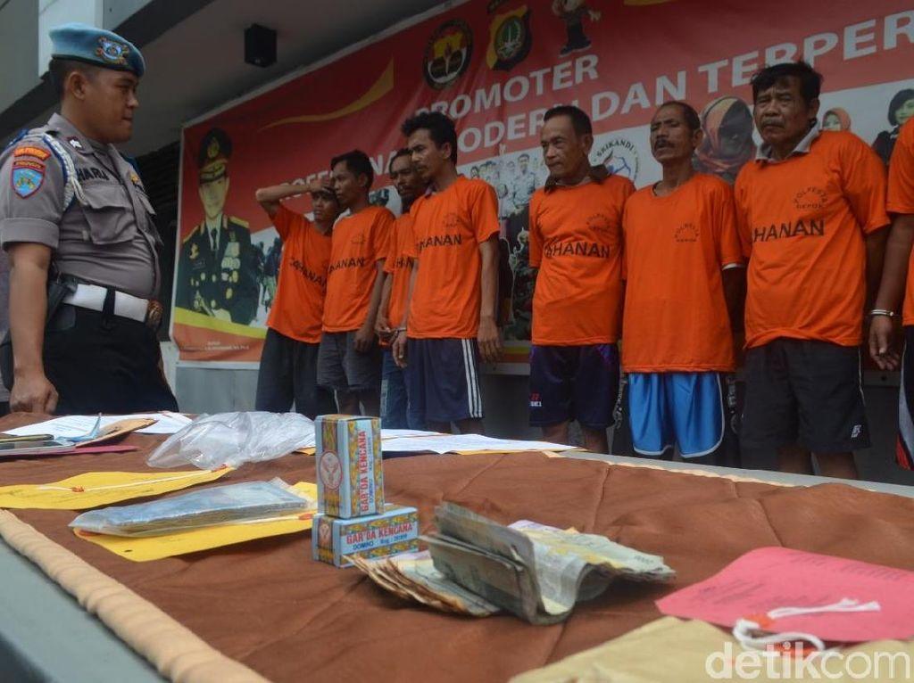 Pakai Aplikasi Ludo, 4 Penjudi di Depok Ditangkap Polisi