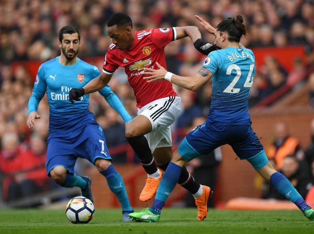 7 Fakta Menarik Usai MU dan Arsenal Imbang 2-2