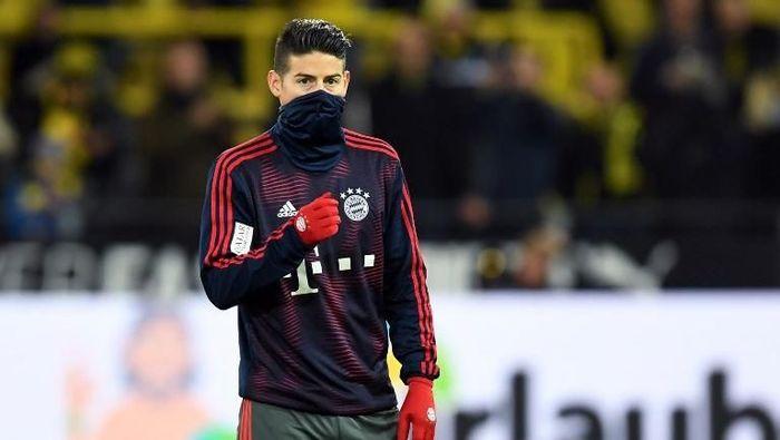 Atletico Madrid bantah minati James Rodriguez (Christof Stache/ AFP Photo)