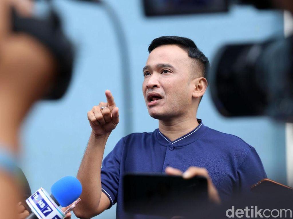Ruben Onsu Serahkan Aksi Teror ke Pihak Kepolisian