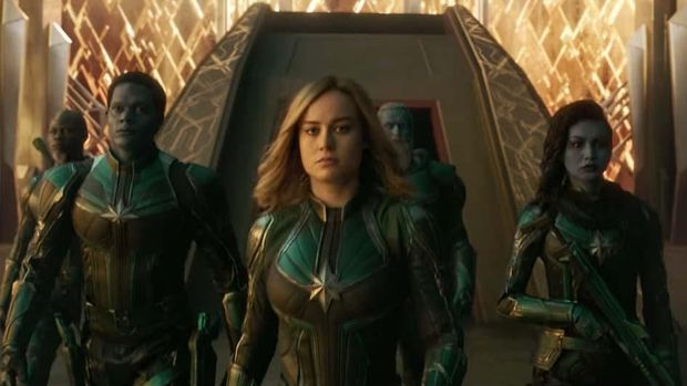 'Captain Marvel' akan muncul di 'Avengers: Endgame'.