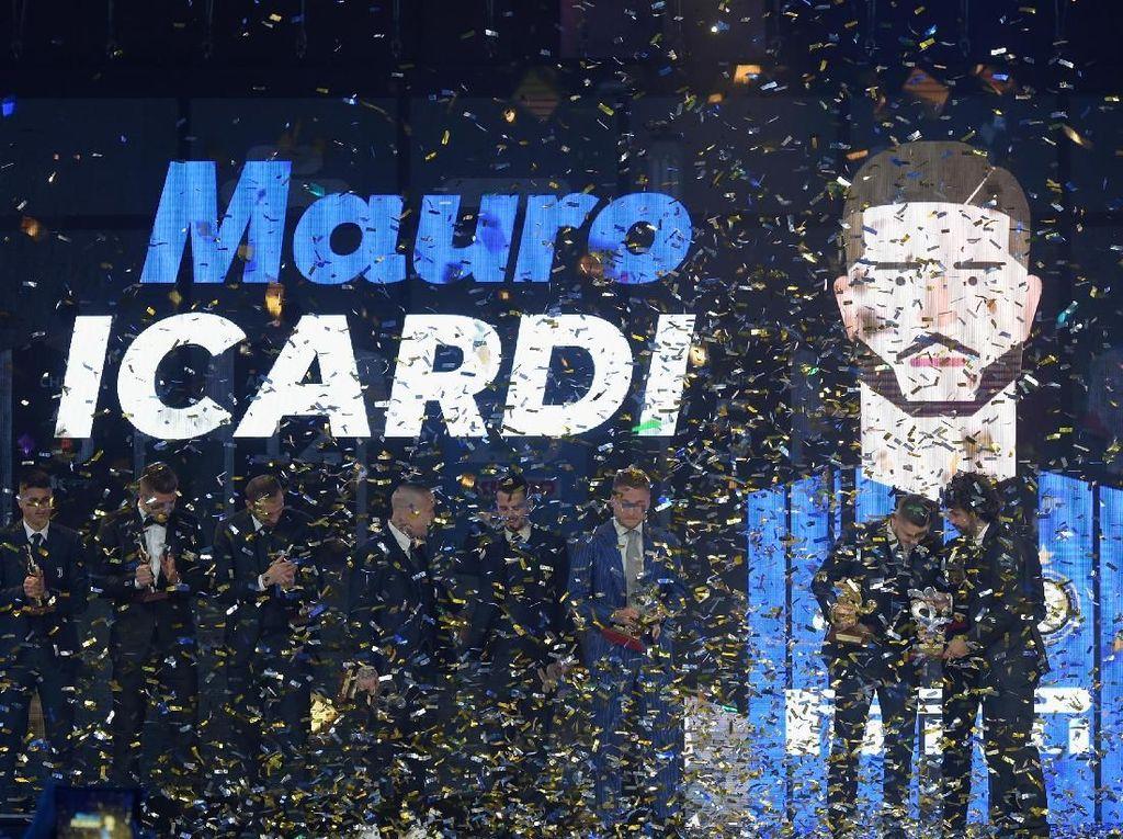 Meriahnya Oscar Del Calcio 2018, Icardi yang Terbaik