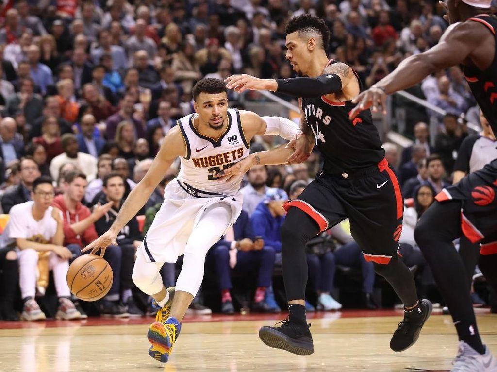 Hasil NBA: Rentetan Kemenangan Raptors Dihentikan Nuggets