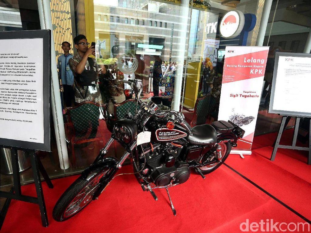 Motor Harley Hingga Mobil Mercy Siap Dilelang di Peringatan Hakordia