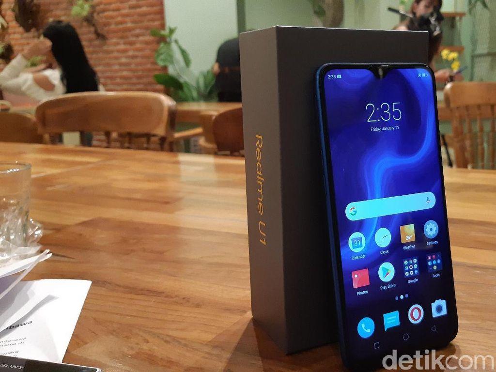 Unboxing Realme U1, Ponsel Buat Generasi Selfie