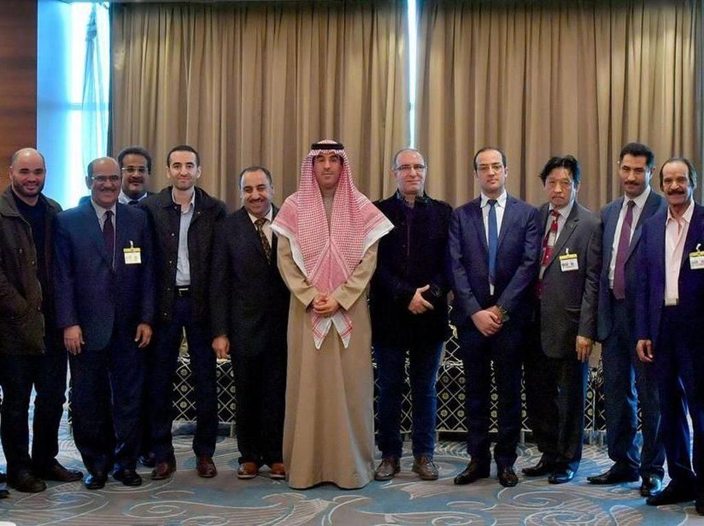 Menteri Media Saudi Bertemu Pemimpin Redaksi Media Aljazair