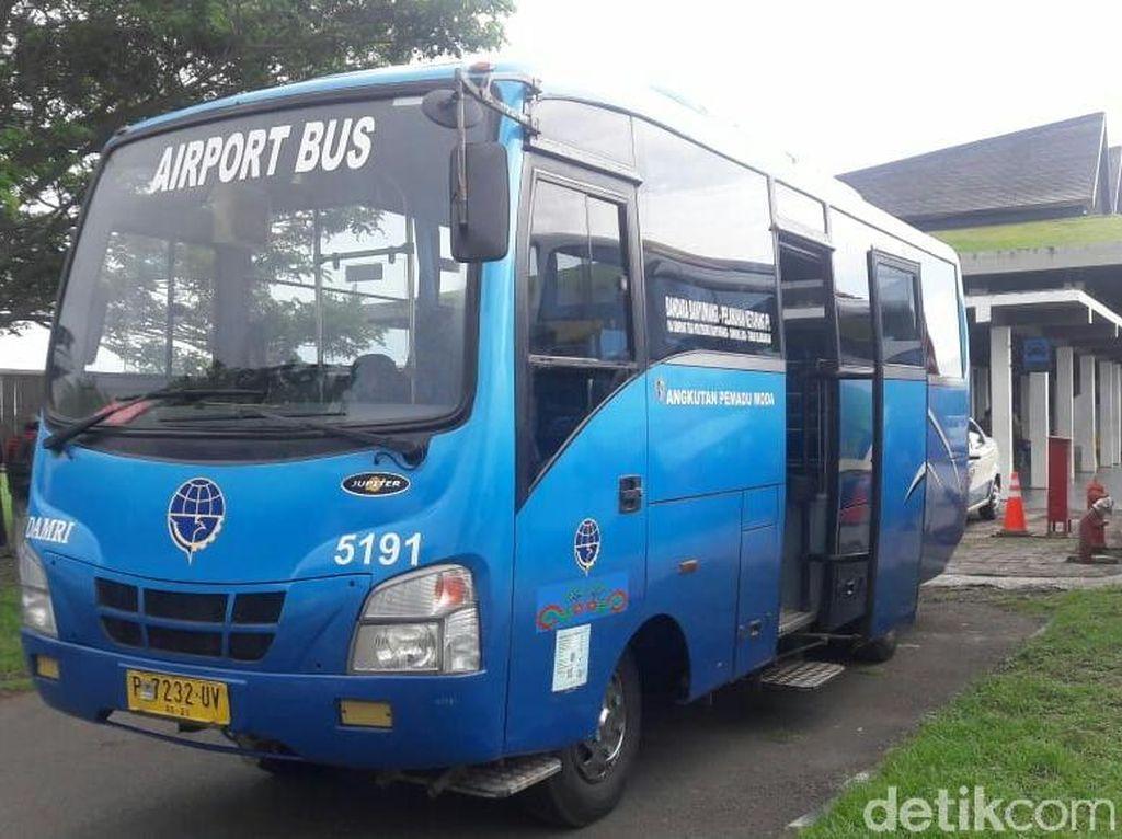 Bandara Banyuwangi Kini Dilengkapi Fasilitas Bus Damri