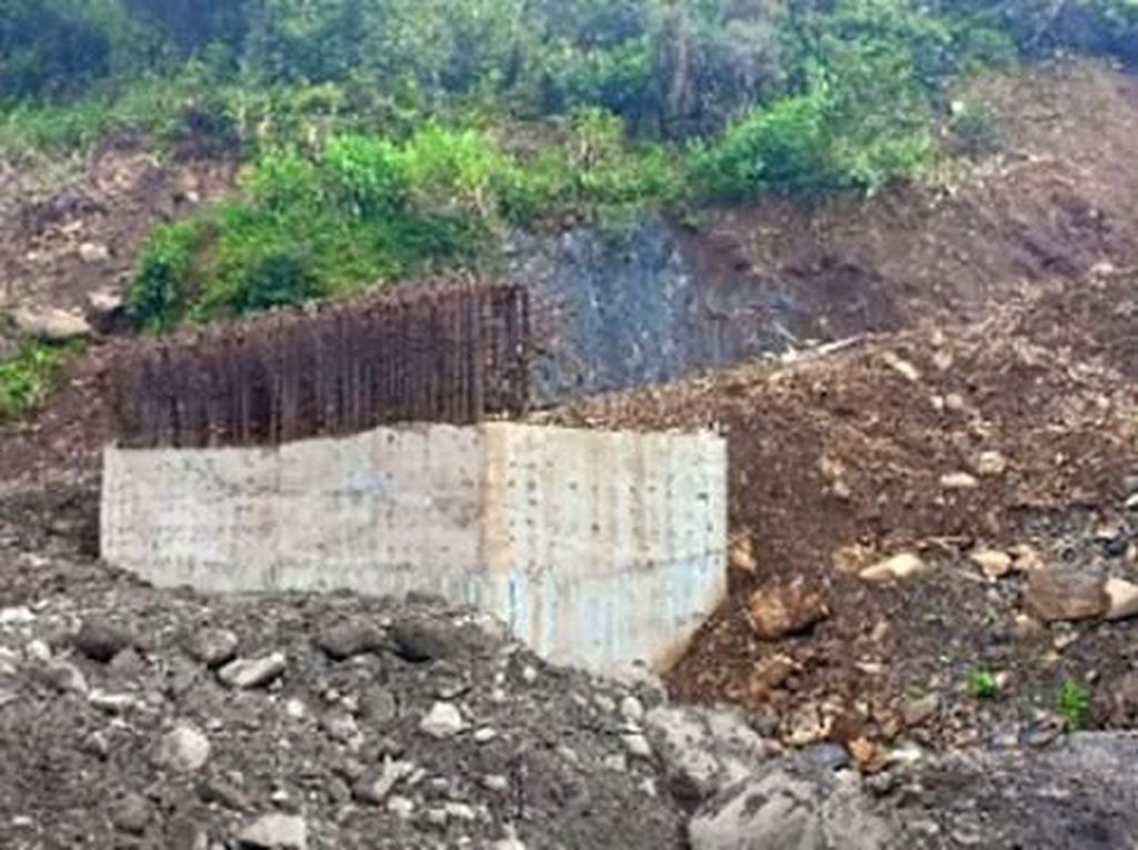 Pembangunan Jembatan Trans Papua di Nduga Dilanjutkan TNI