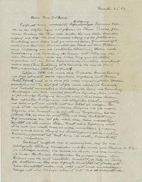 Halaman pertama 'Surat Tuhan' yang ditulis Albert Einstein.
