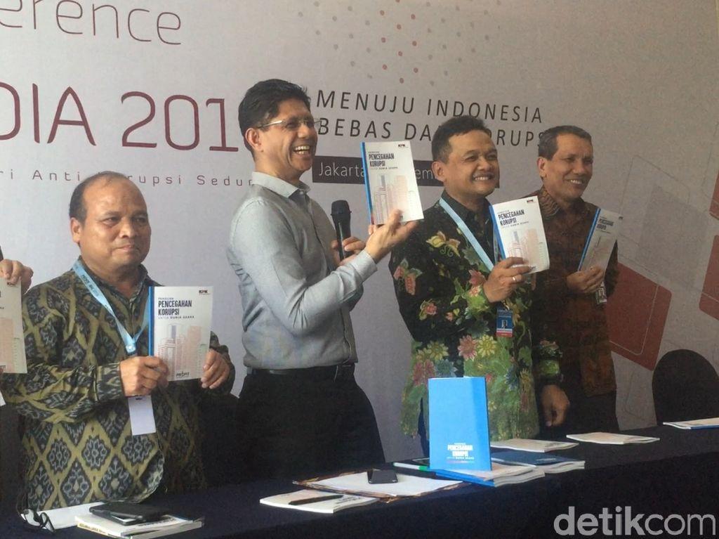 KPK Luncurkan Buku Cegah Korupsi di Lingkungan Korporasi