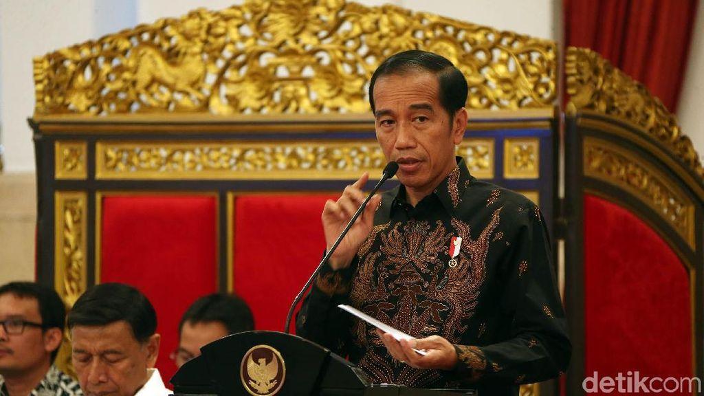 Momen Jokowi Minta Menteri Genjot Pembangunan SDM