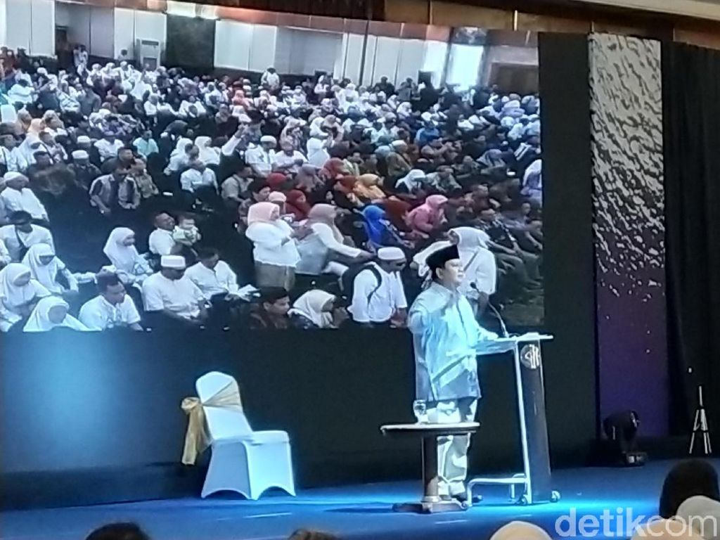 Kritik Prabowo untuk Media Pasca-Reuni 212