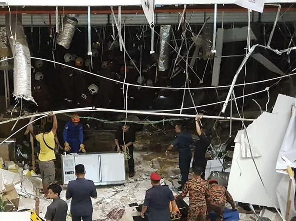 Korban Luka Ledakan di Malaysia Jadi 41 Orang