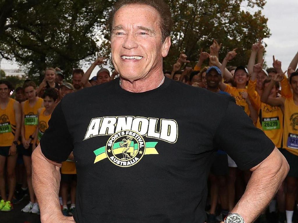 Arnold Schwarzenegger Tak Sangka Putrinya Nikahi Chris Pratt