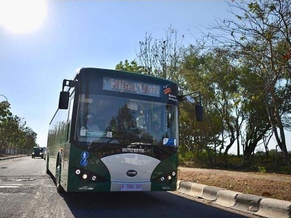 Bakrie Mau Bikin Bus Listrik untuk Transportasi Jateng