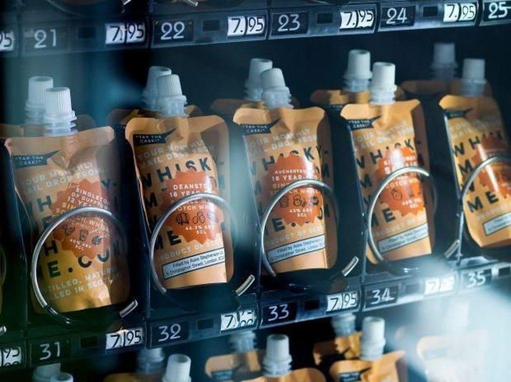 Perusahaan Ini Rilis Vending Machine Khusus Scotch whisky