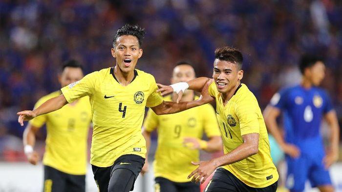 Malaysia lolos ke final Piala AFF 2018 usai singkirkan Thailand (Pakawich Damrongkiattisak/Getty Images)